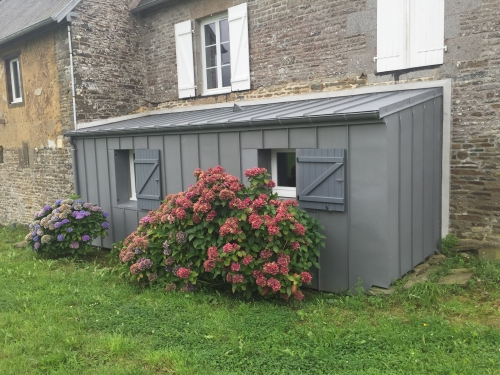 Extension couverture et bardage zinc