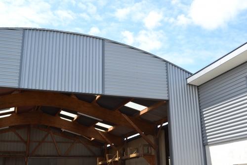 constructeur hangar bois en normandie
