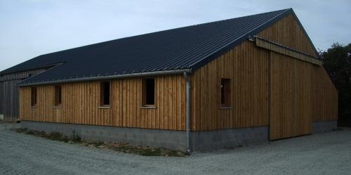 Mancel duclos sarl entreprise de couverture charpente isolation construction bois ramonage - Construction hangar bois ...